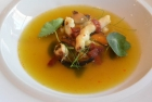 Consomme-with-Saffron-broth